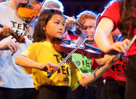 North Lincolnshire young musicians share their Proms performance at The Baths Hall
