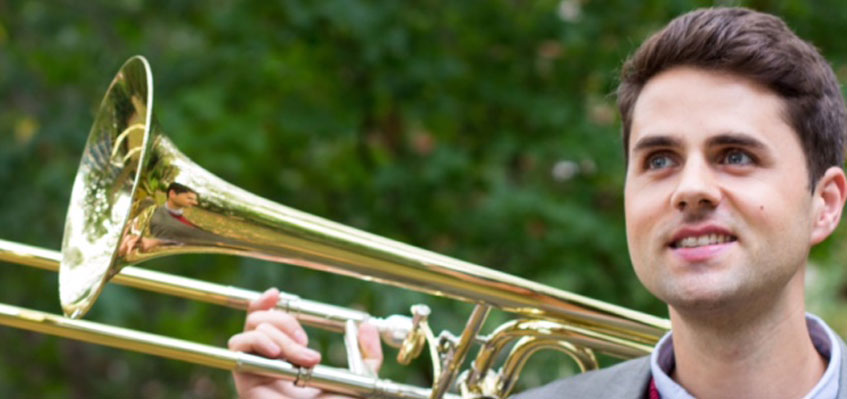 Welcome to Trombonist Rupert Whitehead