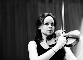 Tonight we are very pleased to welcome Sophie Mather to the First Violin section!