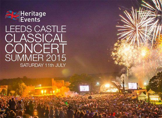 Leeds castle music events 2015