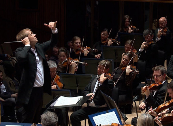 An image of Vasily Petrenko and the Royal Philharmonic Orchestra